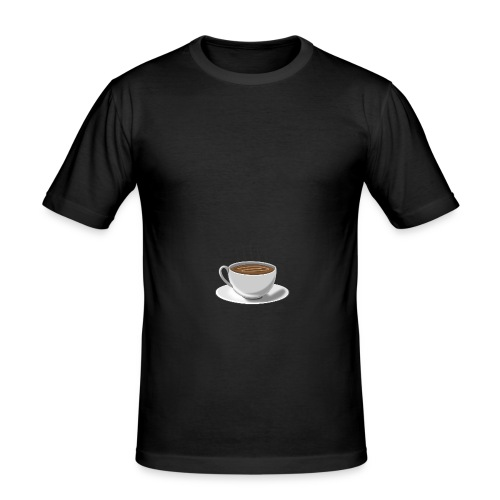 install coffe - Männer Slim Fit T-Shirt