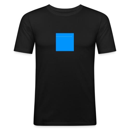 sklyline blue version - T-shirt près du corps Homme