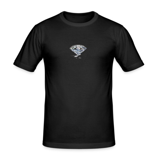 C4 Diamond - Herre Slim Fit T-Shirt