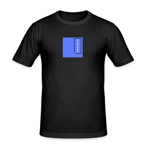 BLECRET - Blue - Men's Slim Fit T-Shirt