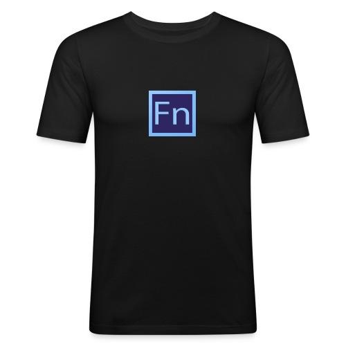 Borraccia falsonome FN - Maglietta aderente da uomo