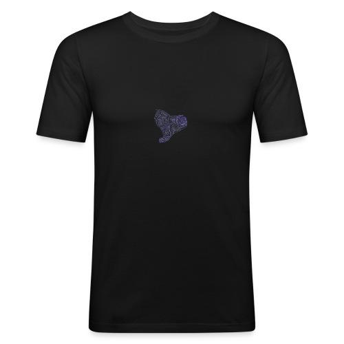 Cuor di Tartaruga Cuore Armato - Maglietta aderente da uomo