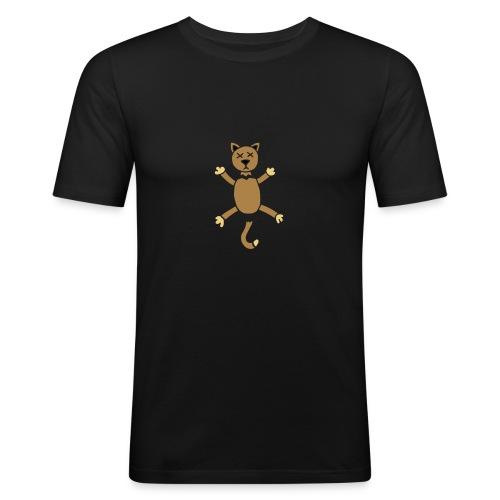 Halloween Dogs Cats Hunde Katzen Killer Death Tod - Männer Slim Fit T-Shirt