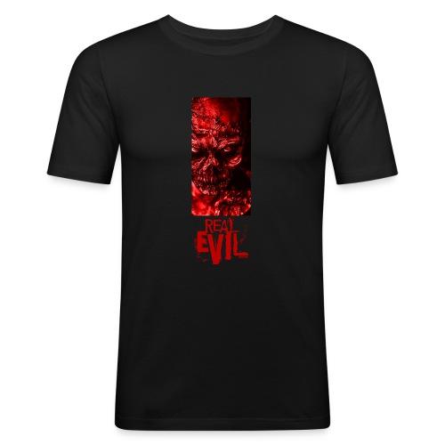 real evil - Männer Slim Fit T-Shirt