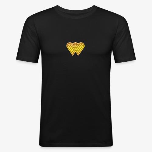 Gold Waffle - Slim Fit T-skjorte for menn