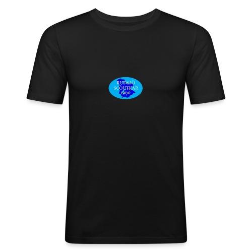 rudsjo_rund_transparant - Slim Fit T-shirt herr