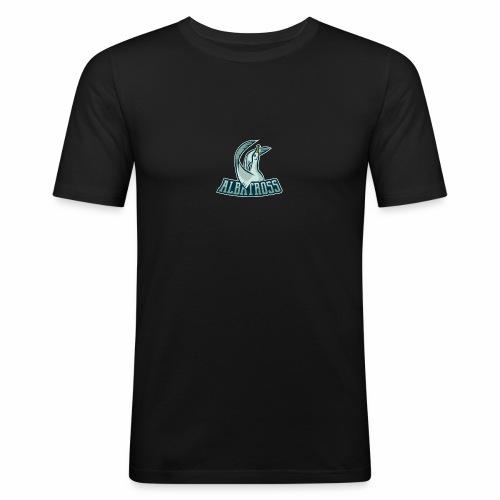 ag logo - Männer Slim Fit T-Shirt
