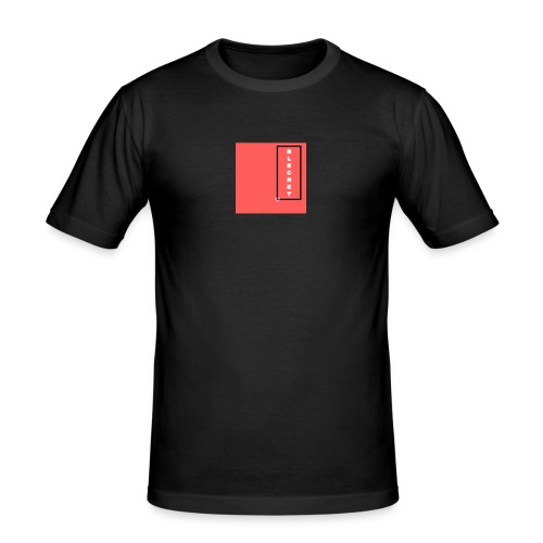 BLECRET - Salmon - Men's Slim Fit T-Shirt