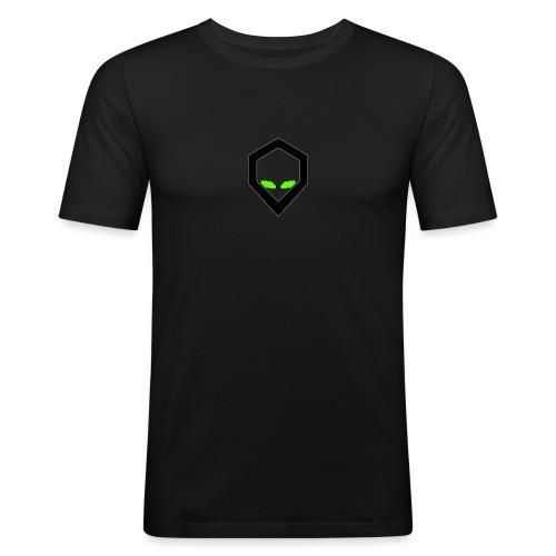 alien mining pool - Men's Slim Fit T-Shirt