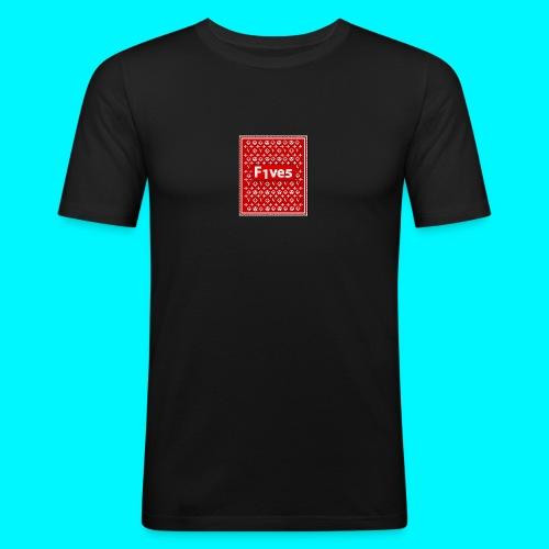 FIVES patch - T-shirt près du corps Homme
