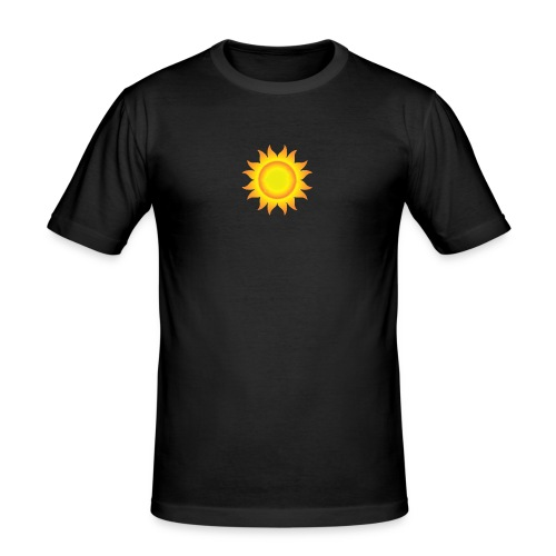 sol T-shirt - Herre Slim Fit T-Shirt
