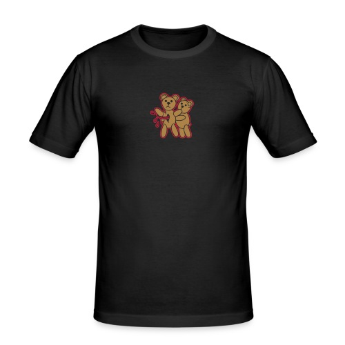 Teddy Killer Kuscheltiere Pets Blood Blut Fun Joke - Männer Slim Fit T-Shirt