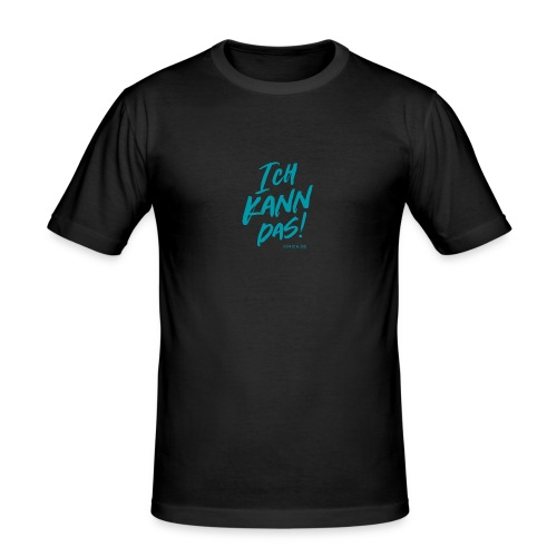 Ich kann das - Männer Slim Fit T-Shirt