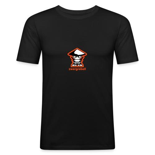 zwergrebell 3 Farbig - zwergenrebbelion - Männer Slim Fit T-Shirt