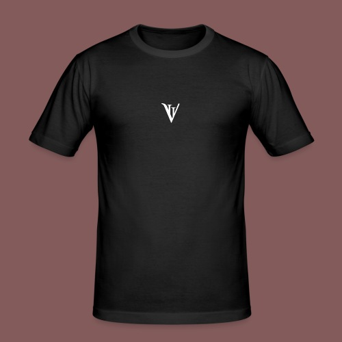 VII blanc - T-shirt près du corps Homme