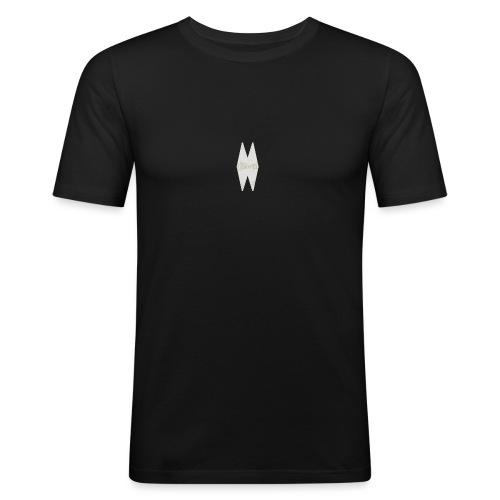 MELWILL white - Men's Slim Fit T-Shirt