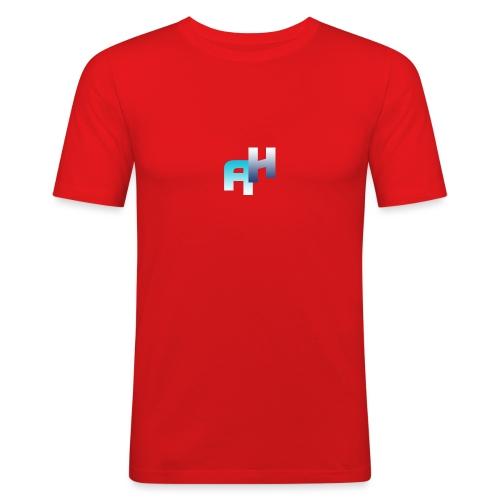 Logo-1 - Maglietta aderente da uomo