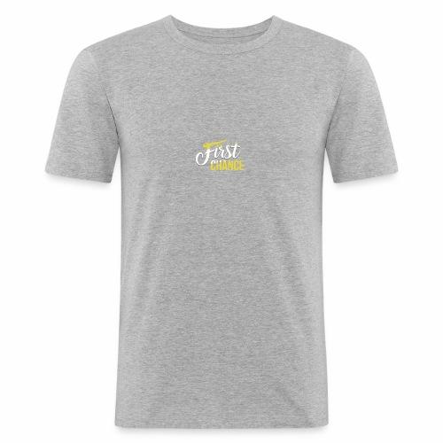 Logo Album First Chance - T-shirt près du corps Homme