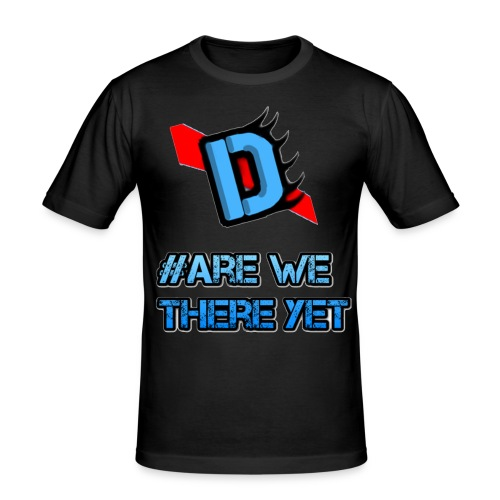 Deadmanj1990 #Are We There Yet - Men's Slim Fit T-Shirt