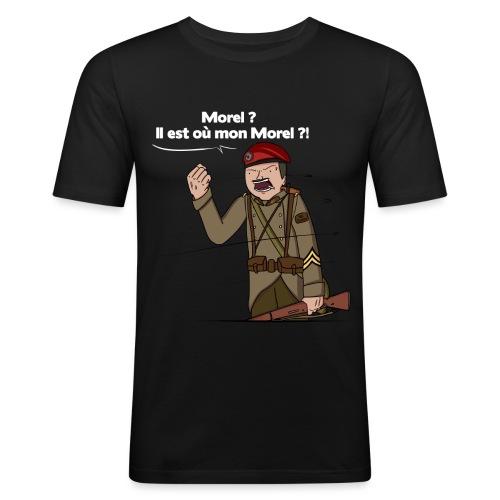 Sgt.Flantier 1940 - T-shirt près du corps Homme