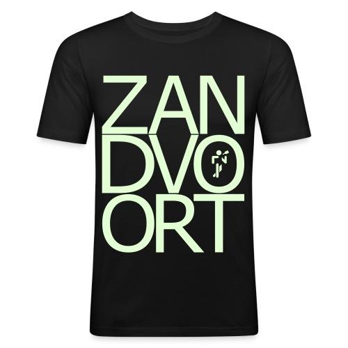 Zandvoortschrift_high - Männer Slim Fit T-Shirt