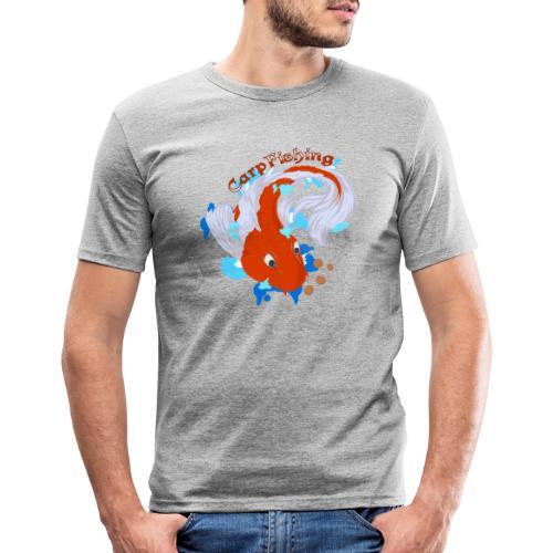 Carpa Koi - Carp Fishing - Maglietta aderente da uomo