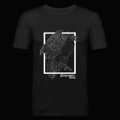 Nevermore in White - Camiseta ajustada hombre