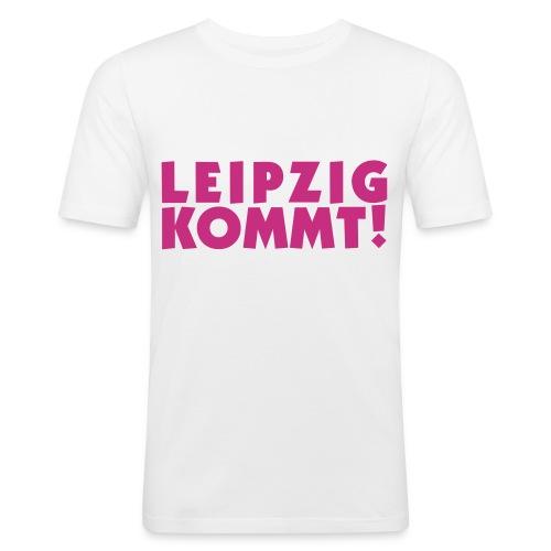 leipzigkommt leipziger leipzig - Männer Slim Fit T-Shirt