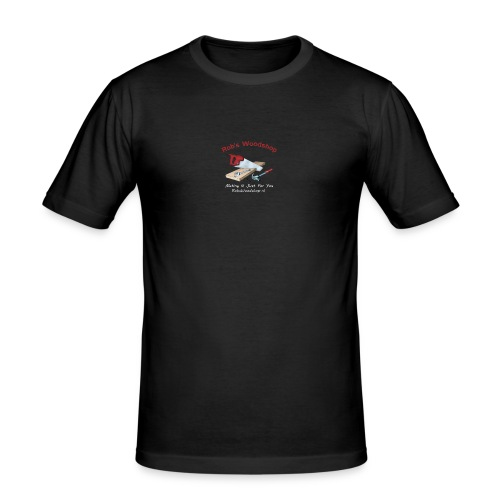 Rob's Woodshop shirt - Men's Slim Fit T-Shirt