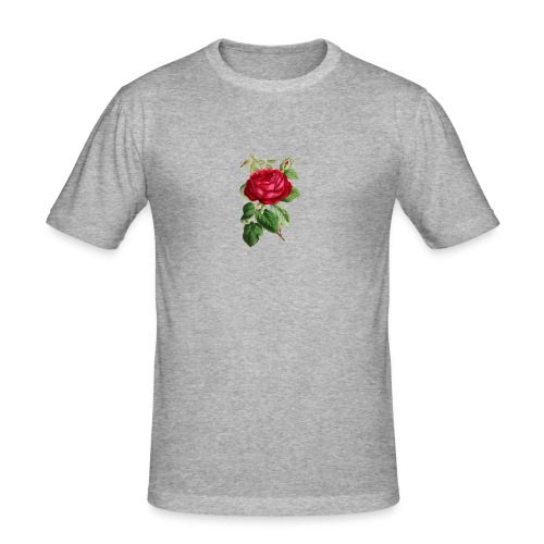 Fin ros - Slim Fit T-shirt herr