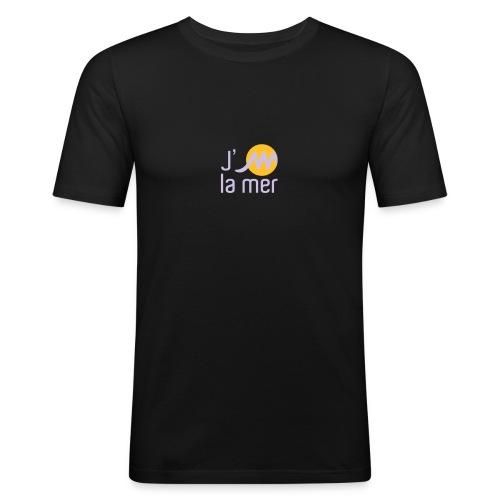 jMmerblancjaune - T-shirt près du corps Homme