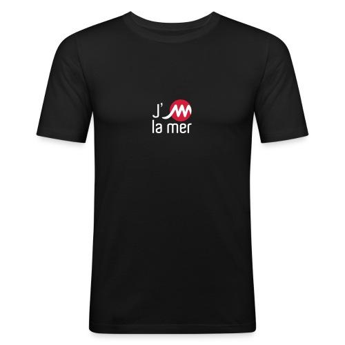 jMmerblancrouge - T-shirt près du corps Homme