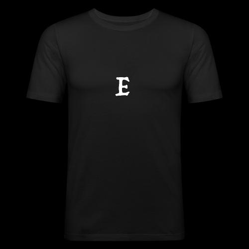 E - Men's Slim Fit T-Shirt