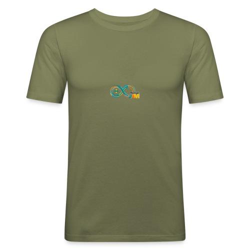 T-shirt Arduino-Jam logo - Men's Slim Fit T-Shirt