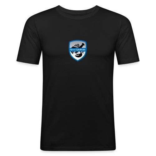 tjornscykelklubb-logga - Slim Fit T-shirt herr