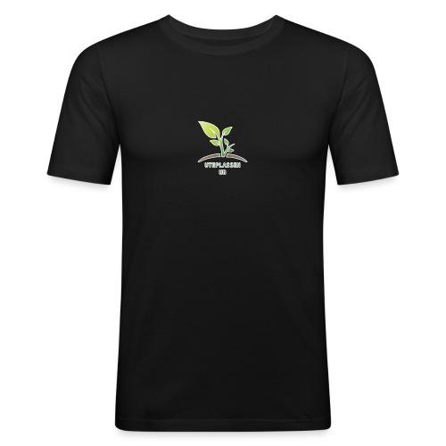UteplassenUB - Slim Fit T-skjorte for menn