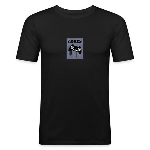 Logo GOREX con joypad - Maglietta aderente da uomo