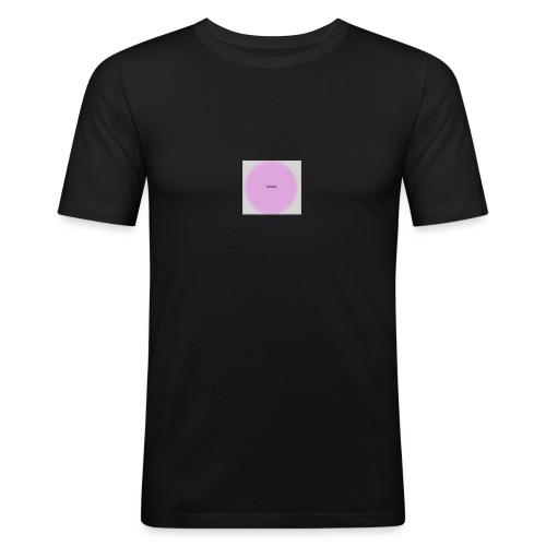 lukewarm logo - Men's Slim Fit T-Shirt