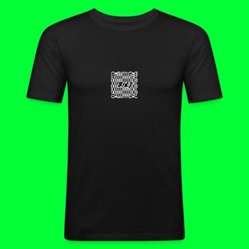 Fld.) »lux def« ; (Lux Def, Lux-Def (…)) ‒ glitch - Männer Slim Fit T-Shirt