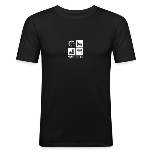 v2null_3_Farben - Männer Slim Fit T-Shirt