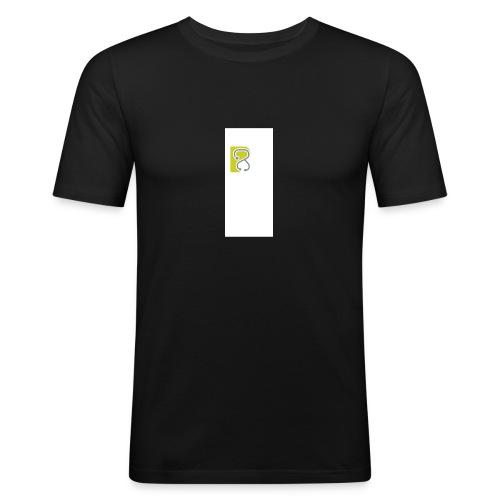 LogoTS - Männer Slim Fit T-Shirt