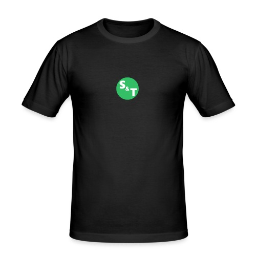 ST Main Logo - Men's Slim Fit T-Shirt