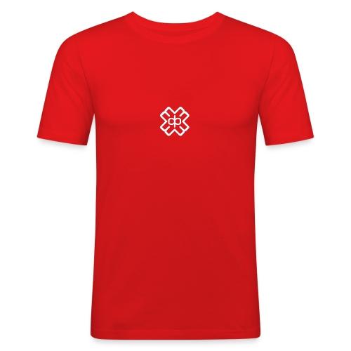 d3eplogowhite - Men's Slim Fit T-Shirt