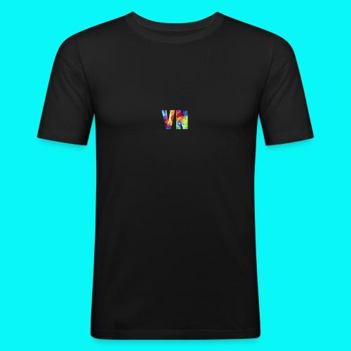 Velocity Networks Coloured Logo! - Men's Slim Fit T-Shirt