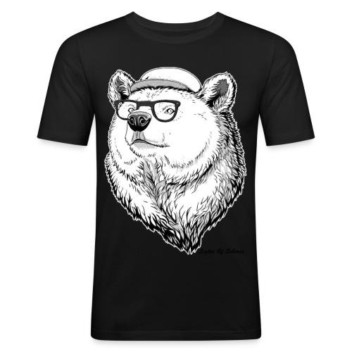 Lights Of Siberia - Men's Slim Fit T-Shirt