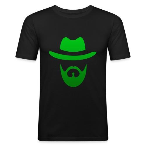 izicron logo vert - T-shirt près du corps Homme
