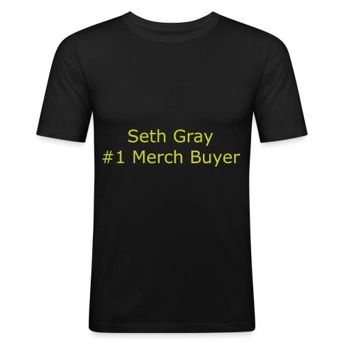 First Merch Buyer - Men's Slim Fit T-Shirt
