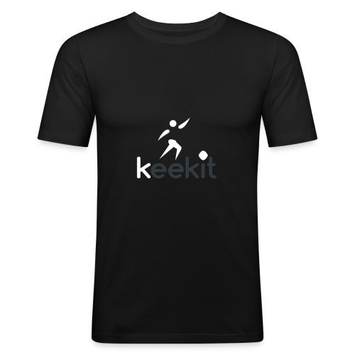 keekit - T-shirt près du corps Homme