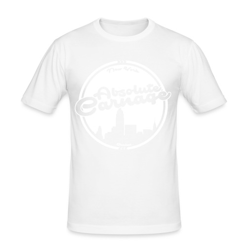 Absolute Carnage - White - Men's Slim Fit T-Shirt