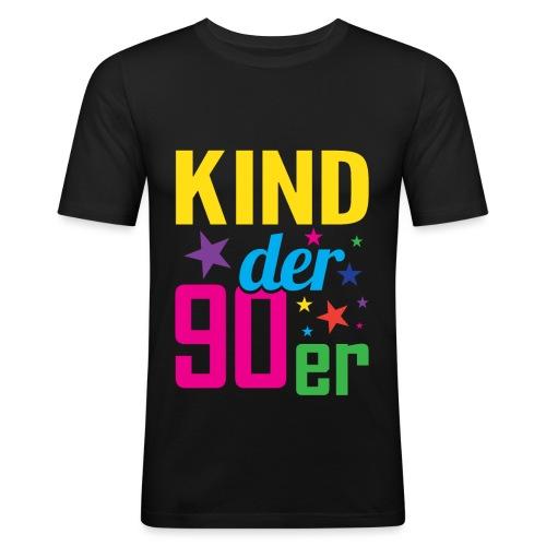 Kind der 90er Jahre 90s - Männer Slim Fit T-Shirt